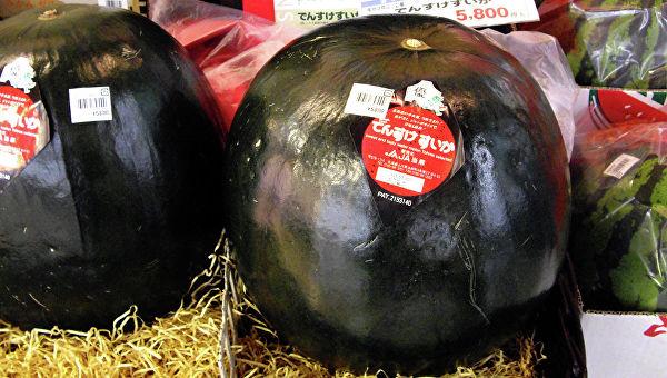 черные арбузы