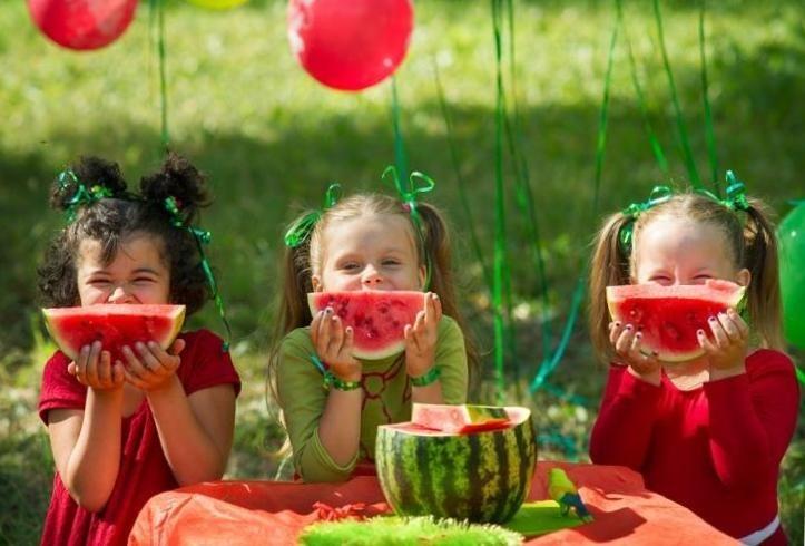 детская арбузная вечеринка
