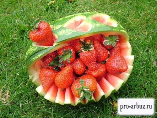Арбуз ложная ягода