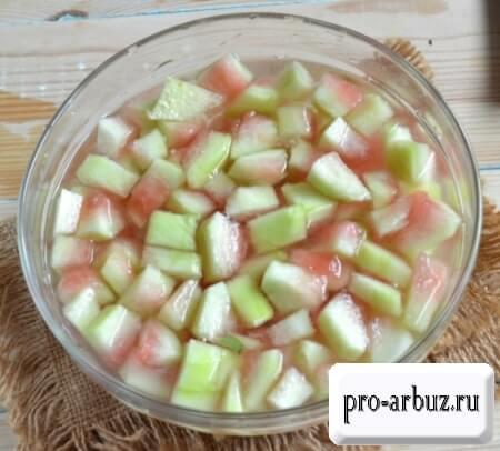 Рецепт варенья из арбуза с содой