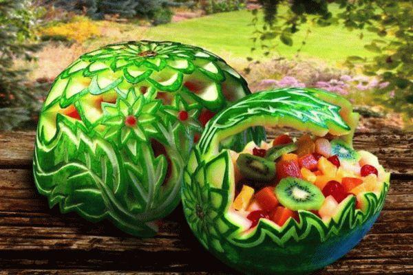 карвинг арбуза