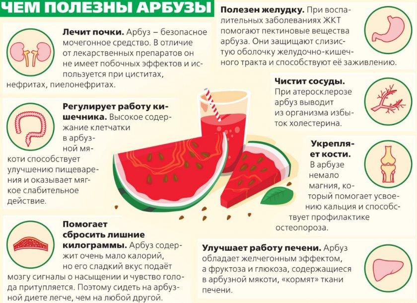 арбуз при холецистите
