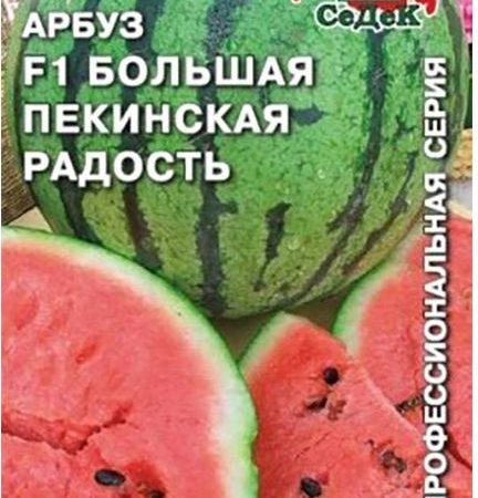 Арбуз Большая Пекинская Радость F1, 1 г Седек