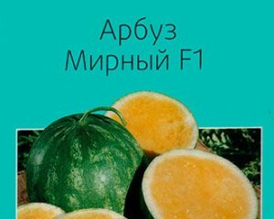 Арбуз Мирный F1, 3 шт Сады России
