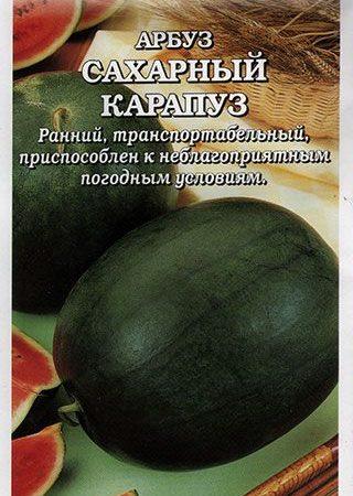 Арбуз Сахарный Карапуз, 0,5 г