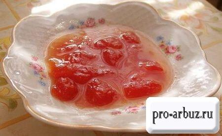 Быстрый рецепт варенья из арбуза