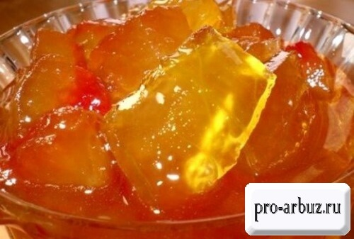 Рецепт варенья из арбуза с апельсином и лимоном