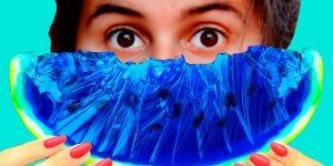 Арбузы с синим цветом мякоти: синий туман в глаза покупателям