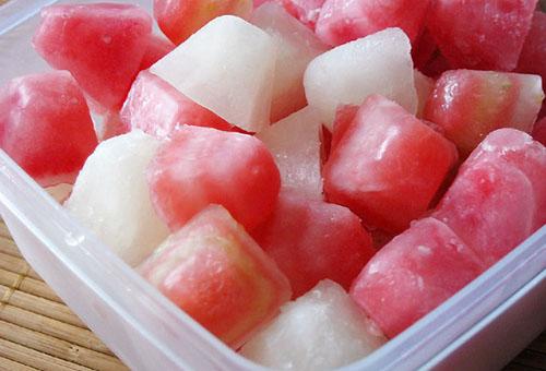 заморозка арбузного сока