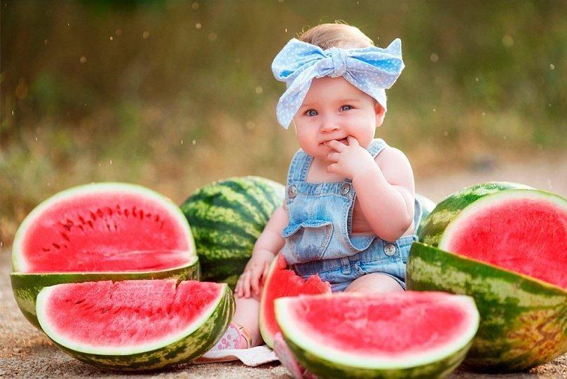 арбуз для детей польза и вред